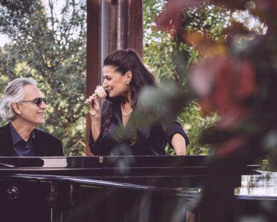 """Riprese Steadicam di Marco Dardari nel nuovo video """"Pianissimo"""" di Andrea Bocelli con Cecilia Bartoli"""